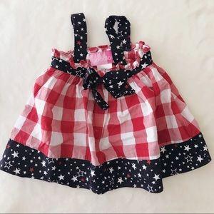 Other - Patriotic tunic dress